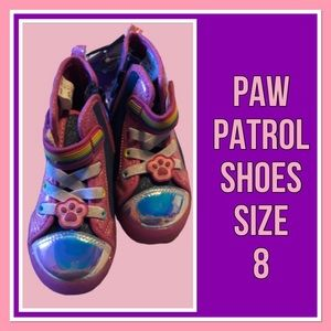Paw Patrol Girl's Shoes Size 8